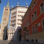 Palazzo Dalla Rosa Prati, il Duomo e il Battistero