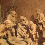 Presepe in terracotta a Caltagirone