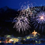 Fuochi d'artificio su Trento