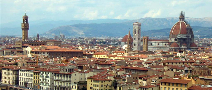 Panorama di Firenze