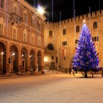 Il centro storico di Fabriano a Natale