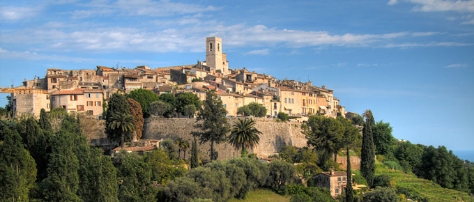 Panorama di Saint Paul de Vence