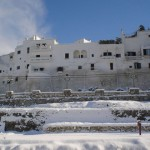 Ostuni sotto la neve