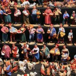 I pupi del Presepe nella Fiera di Santa Lucia a Lecce