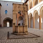 Rocca Albornoziana - Cortile interno