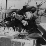 Giuseppe Cipriani con Ernest Hemingway a Torcello - Immagine tratta da www.locandacipriani.com