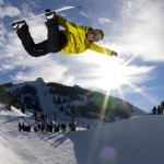 Snowboard sul Monte Bondone