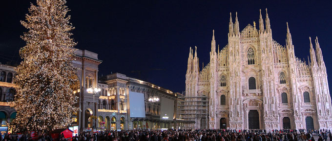 Natale in Piazza Duomo a Milano