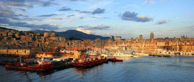 Genova - Veduta del Porto Antico